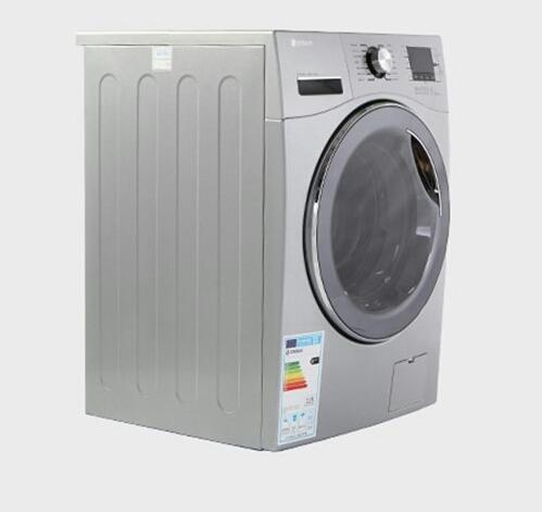 ماشین لباسشویی اسنوا سری اکتا مدل SWM-84508 ظرفیت 8 کیلوگرم تیتانیوم درب دودی