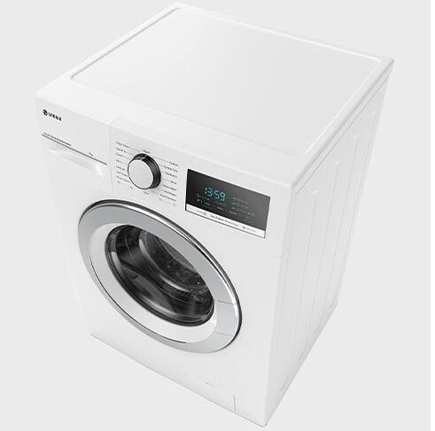 ماشین لباسشویی سفید درب کروم اسنوا مدل SWM-72301